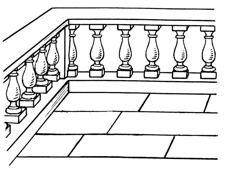 Balustrade dreams nest for Balcony synonym
